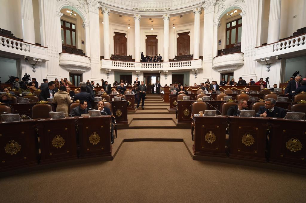 Presentan en el Congreso de la CDMX iniciativas para reformar el Código Penal local