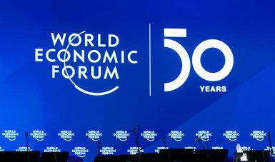 Concluyen las actividades de la secretaria de Economía en la 50ª Reunión del Foro Económico Mundial de Davos