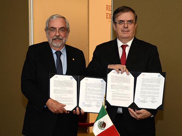 COMUNICADO CONJUNTO: Impulsarán UNAM y SRE apoyo científico y tecnológico a connacionales en el exterior