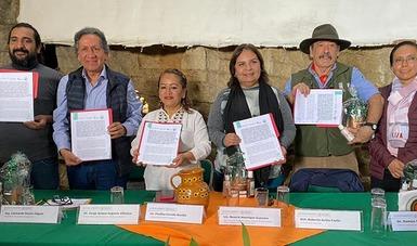 Semarnat, Conanp y Cooperativa Tosepan, en Puebla, suman esfuerzos para fortalecer el cuidado de los ecosistemas y su riqueza natural