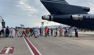 Realiza INM retorno asistido de más de 2 mil personas migrantes hondureñas