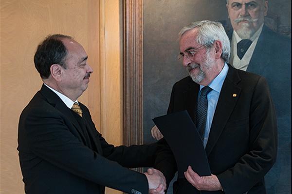 Asume Jorge Vázquez la nueva Coordinación de Vinculación y Transferencia Tecnológica
