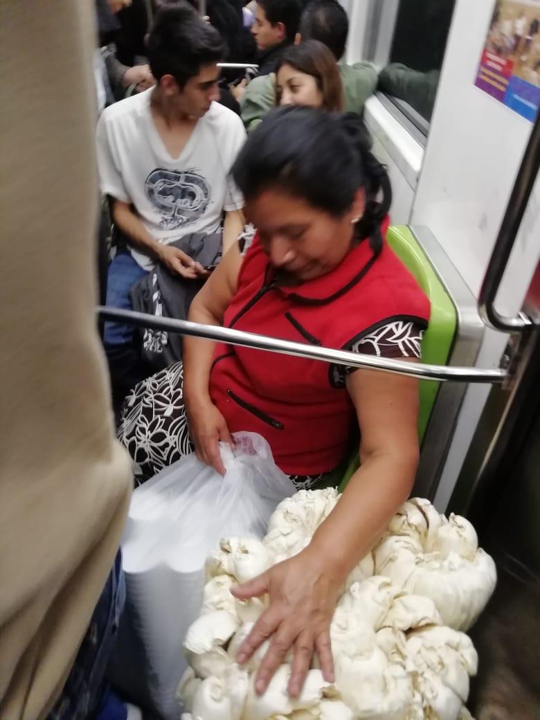 Historias en el metro - La Candelaria