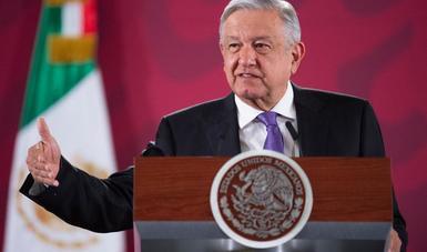 Próximo 15 de febrero se define si procede rifa de avión presidencial, informa presidente López Obrador