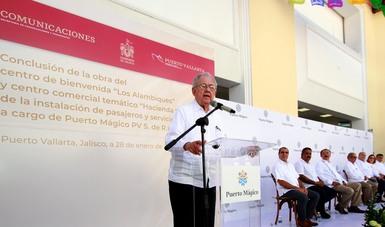 Los puertos, eslabones que propician el desarrollo económico y el beneficio para la población más necesitada: Jiménez Espriú