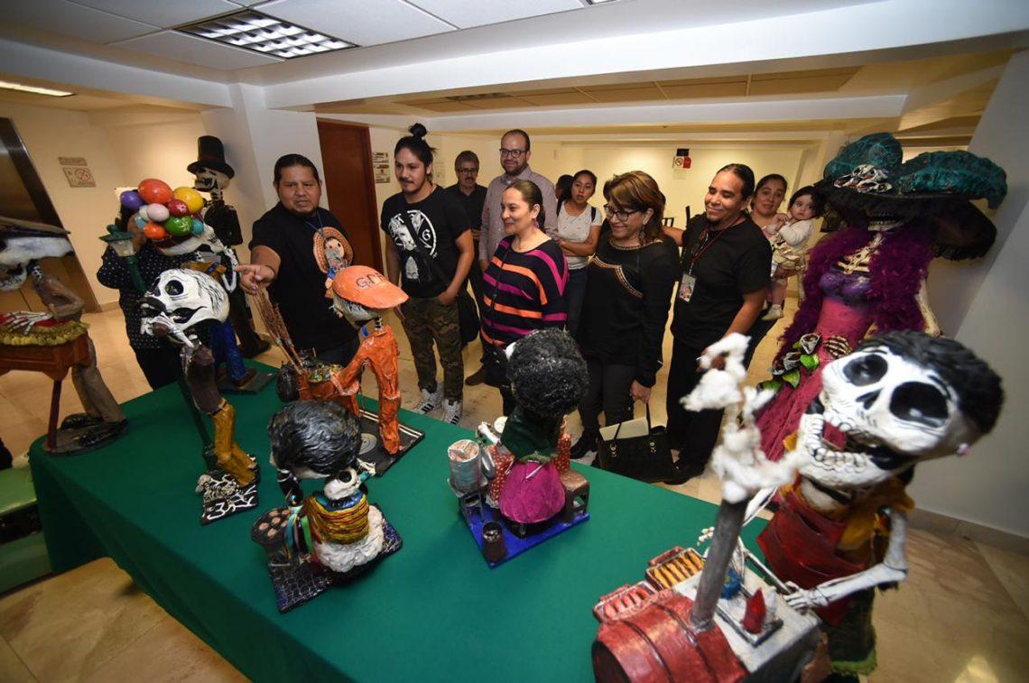 """Inauguran en el Congreso de la CDMX la exposición """"Arte en Cartonería"""""""