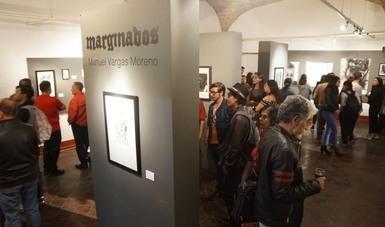 Manuel Vargas invita a reflexionar sobre la realidad plasmada en la exposición Marginados