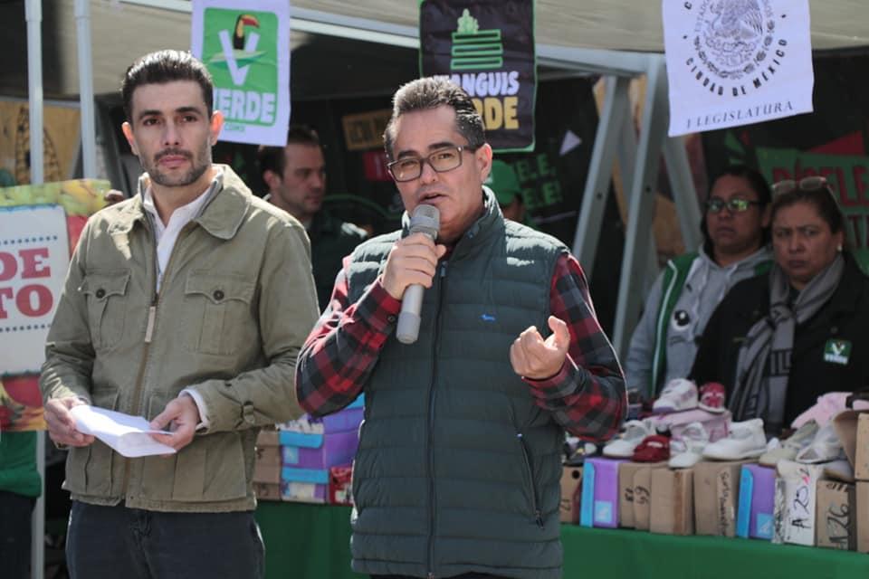 PVEM inicia los tianguis verdes en la CDMX