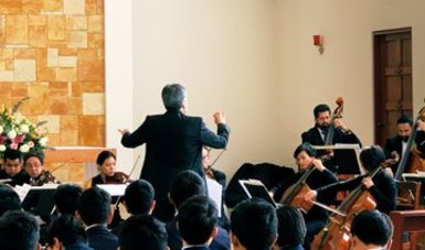 La Orquesta de Cámara de Bellas Artes cautivó a estudiantes de El Mexicanito