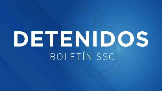 La SSC detuvo a un árbitro de equipos de futbol soccer, del Deportivo Los Galena, por portación de arma de fuego