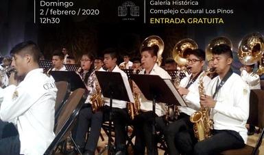Bandas infantiles de Oaxaca darán concierto en Los Pinos