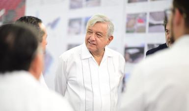 Habrá regularización de la tierra en Solidaridad, anuncia presidente López Obrador desde Quintana Roo
