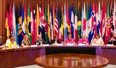 México participa en la XIV Conferencia Regional sobre la Mujer de América Latina y el Caribe en Santiago de Chile