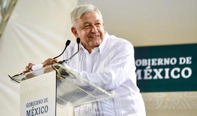 En Mérida, presidente López Obrador encabeza inicio de construcción de dos centrales eléctricas y gasoducto