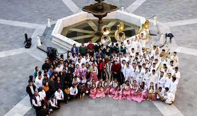 Inicia la entrega de instrumentos musicales a bandas infantiles de Oaxaca