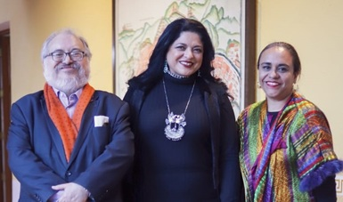 Eréndira Cruzvillegas Fuentes asume como jefa de la Unidad de Asuntos Jurídicos de la Secretaría de Cultura
