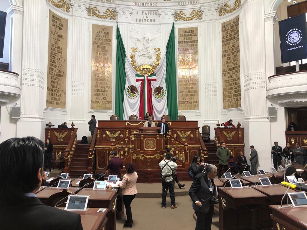 El pleno del Congreso CDMX conoce los Acuerdos de la Jucopo: Designación de la coordinadora de MORENA, calendario legislativo y Sesión Solemne del 5 febrero