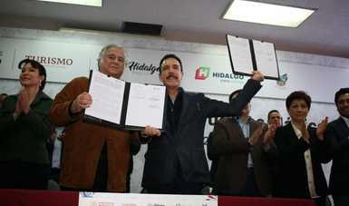 Hidalgo será sede del Tianguis de Pueblos Mágicos en 2021 y 2023