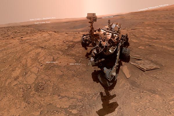 Revelan científicos origen del carbono orgánico en Marte