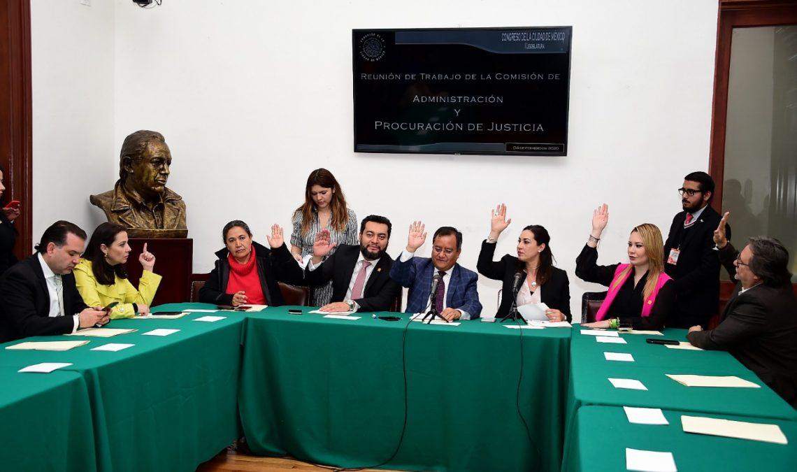 El Congreso local inició análisis del Plan de Política Criminal de la FGJ CDMX