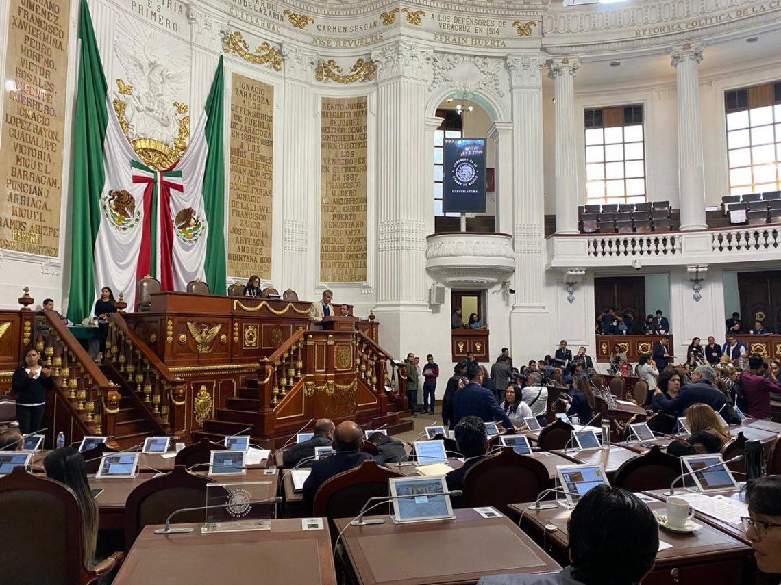 Presentan iniciativas para reformar la Constitución de la CDMX en materia de revocación de mandato y consulta popular