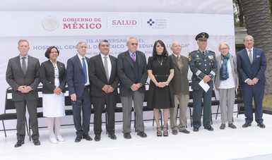 Hospital General de México, referente nacional en atención de la población sin seguridad social
