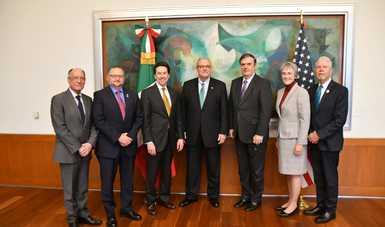 Visita de funcionarios de El Paso, Texas a la Ciudad de México