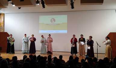 Escritores, investigadores y creadores participaron en el inicio del Festival Nacional de las Letras Leona Vicario