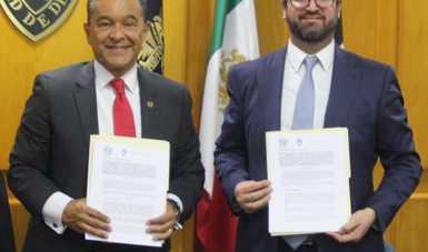 Firman Insus y UNAM convenio de colaboración para instrumentar programa de Práctica Jurídica