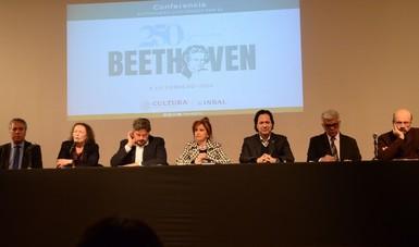 Conmemoran el legado de Ludwig van Beethoven con una mirada contemporánea