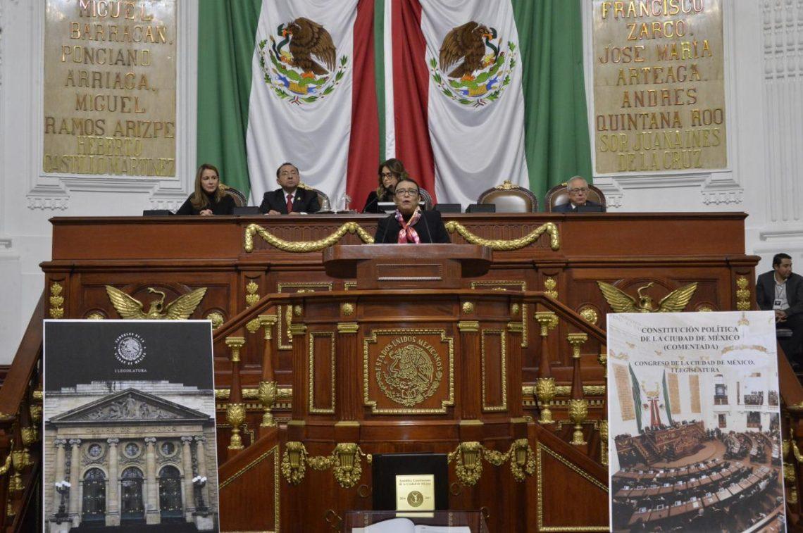 La Constitución de la Ciudad de México es un hito histórico del constitucionalismo latinoamericano: Rosa Icela Rodríguez, secretaria de Gobierno