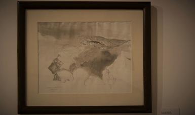Exhibe el CECUT dos obras de caballete de Luis Nishizawa