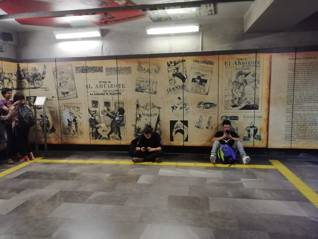Historias en el metro - Caricaturistas