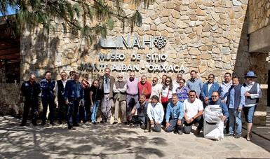 Autoridades del INAH se reúnen con el Comité del SNDTSC en Oaxaca