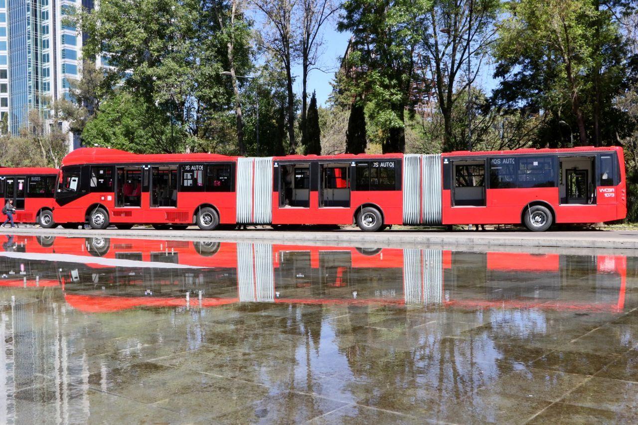 Inicia Gobierno capitalino renovación de Metrobús