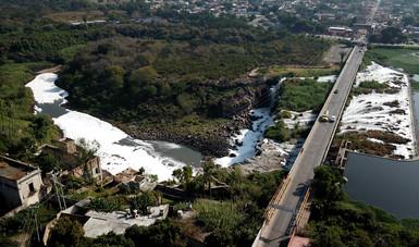 Semarnat atiende contaminación del río Santiago en Jalisco