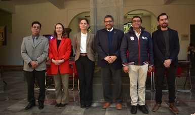 Presentan convenios de colaboración La Colmena y universidades públicas de Tlaxcala