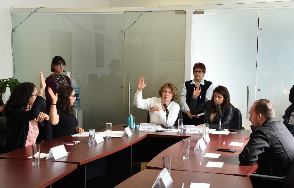 La Comisión de Igualdad de Género aprueba el dictamen de opinión para crear la Ley del Registro Público de Agresores Sexuales en la Ciudad de México