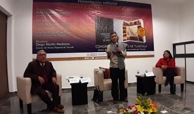 Presentan en el Congreso de Tlaxcala libro conmemorativo por los 80 años del INAH