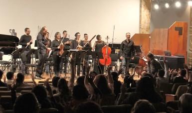 El Ensamble Cepromusic iniciará la temporada de Funciones relajadas con concierto