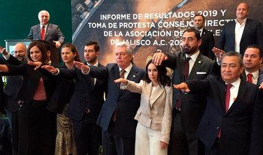 Miguel Torruco tomó protesta al nuevo Consejo Directivo de la Asociación de Hoteles de Jalisco