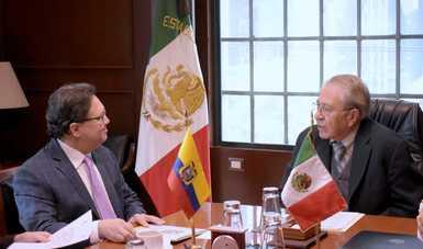 México y Ecuador firman memorando de entendimiento en materia de salud