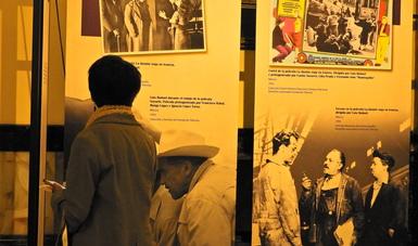 Últimos días de la exposición Travesía Ibérica Destino México. 80 años del exilio español en México