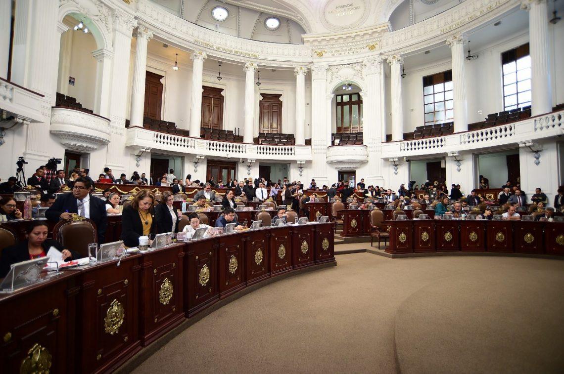 Diputados del PRI, PT, PAN y Encuentro Social promueven reformas a la Constitución local y al Código Nacional de Procedimientos Penales