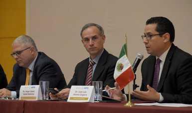 México, sede del Taller de Diagnóstico y Detección por Laboratorio del nuevo coronavirus COVID-19