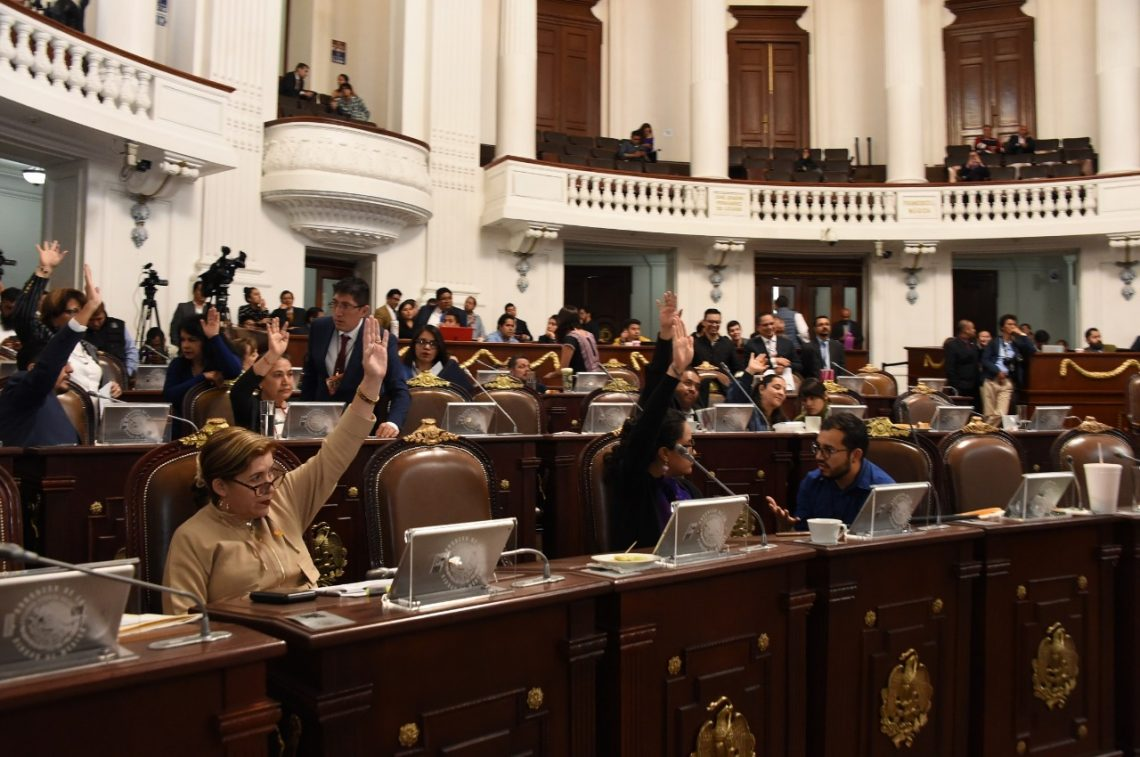 Presentan proyectos de iniciativas para reformar el Reglamento del Congreso de la Ciudad de México