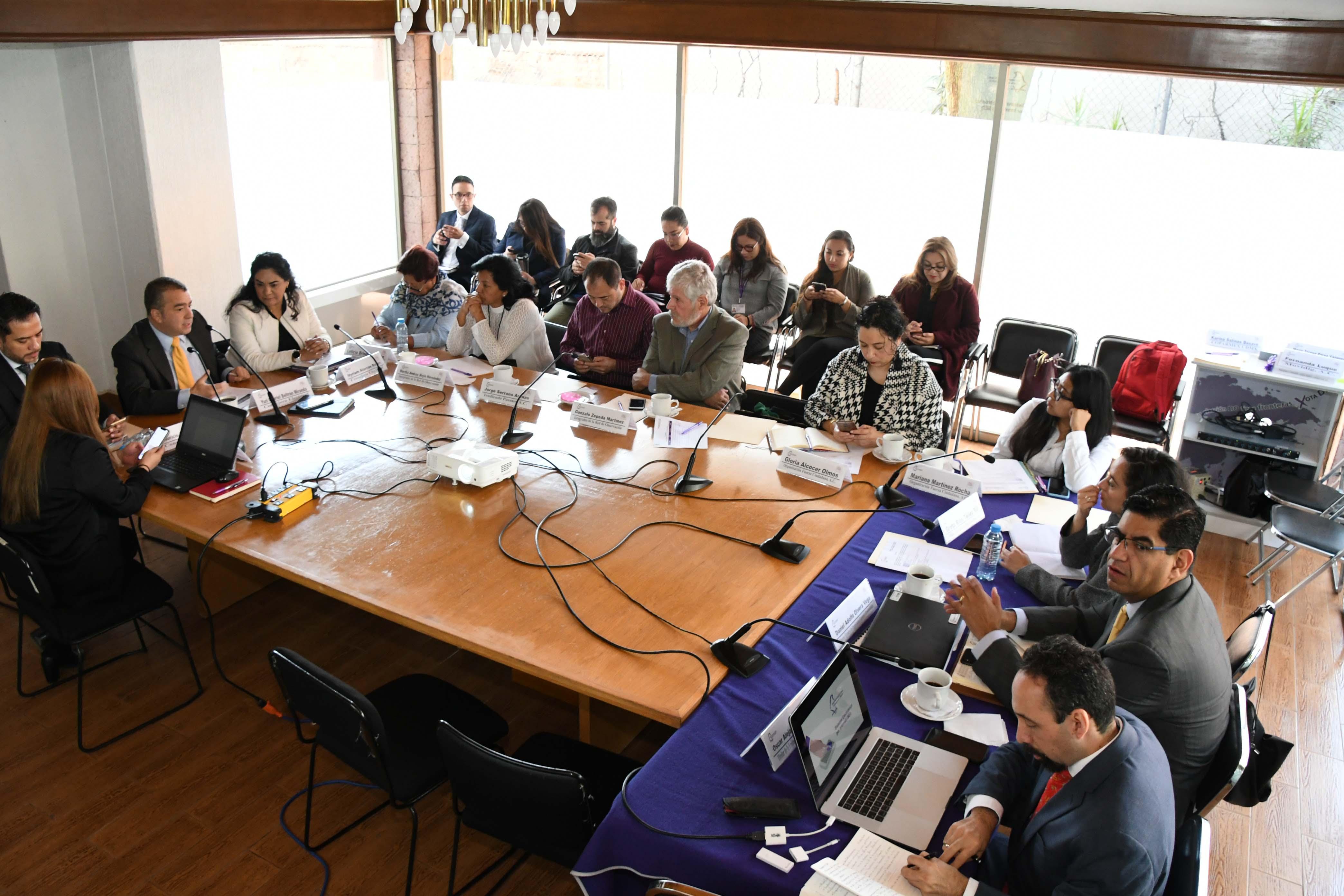Presenta IECM funcionamiento del Sistema de Votación Electrónica a integrantes de la Red de Observación Electoral