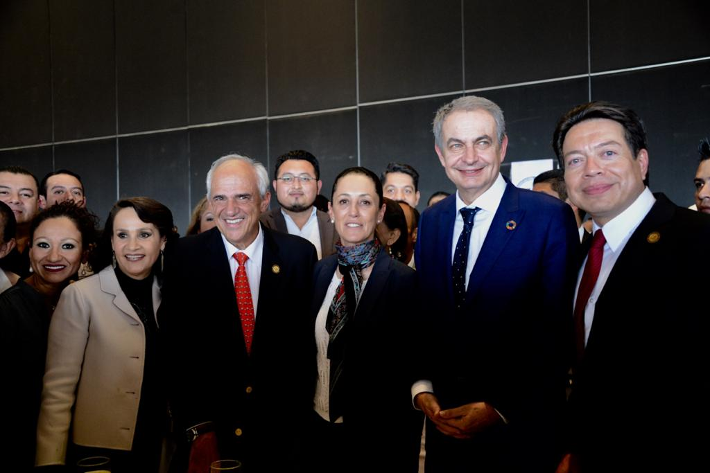 Asiste Jefa de Gobierno a la Primera Asamblea Nacional Ordinaria de la Asociación Nacional de Legisladores 4T