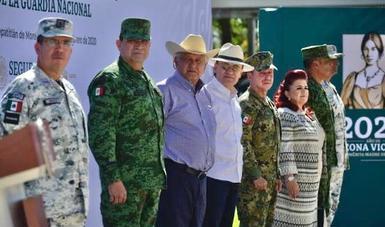 Presidente López Obrador inaugura instalaciones de la Guardia Nacional en Tepatitlán