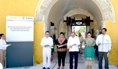 Estrena rostro el Museo de Arqueología Maya, Fuerte de San Miguel